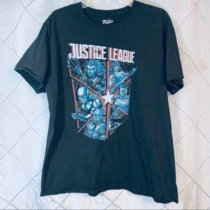 Justice league Marvel exclusive T-shirt large